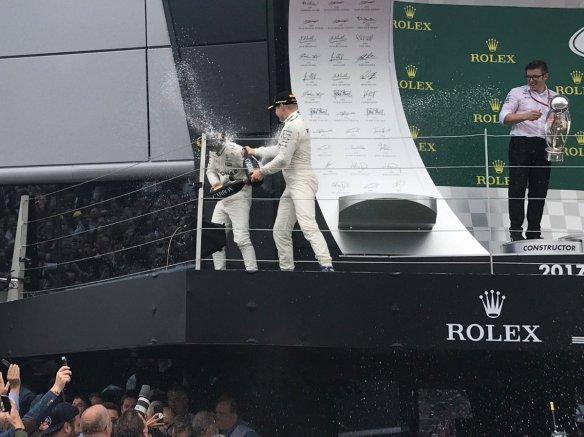 Hamilton Bottas podium - https-::twitter.com:MercedesAMGF1:status:886589901369638912