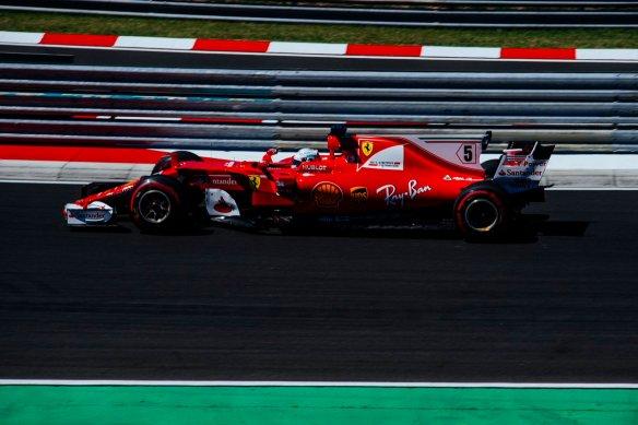 Vettel - Hungarian GP - https-::twitter.com:ScuderiaFerrari:status:891633466898624512